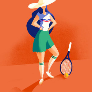 Illustration Roland Garros